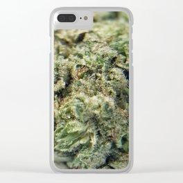 NCP_ cannabis 002 Clear iPhone Case
