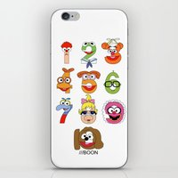 muppet iPhone & iPod Skins featuring Muppet Babies Numbers by Mike Boon