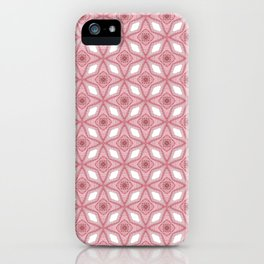 Millennial Pink- Lucy's Stars Graphics Pattern iPhone Case