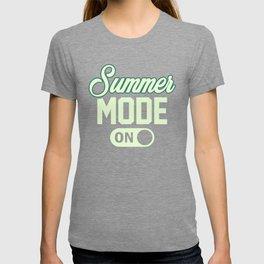 Summer Mode ON gr T-shirt