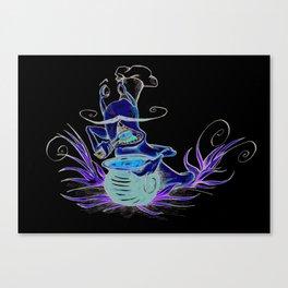 snail cartoon Canvas Print