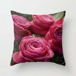 camelias Throw Pillow