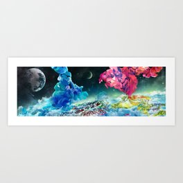 Subspace Art Print