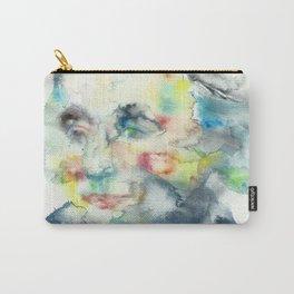 HORATIO NELSON - watercolor portrait Carry-All Pouch