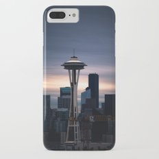 Space Needle Sunset - Seattle Nights iPhone 8 Plus Slim Case