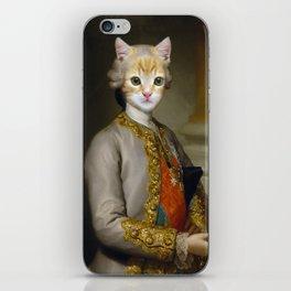 The Cat Duke iPhone Skin