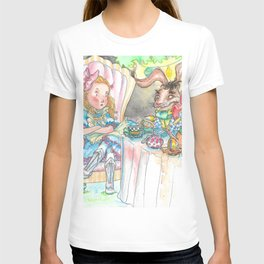 Alice's Mad Tea Party T-shirt