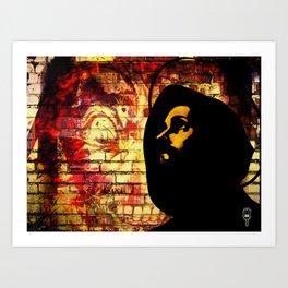 \hey \zeus Art Print