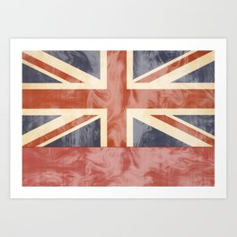 Union Love {UK} Art Print