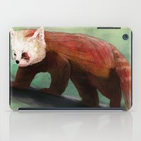 red panda iPad Cases featuring Red Panda by Ben Geiger