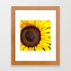 Center of the Sun Framed Art Print