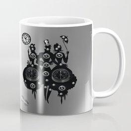 Process Steampunk Mixed Media Coffee Mug