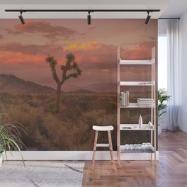 Joshua Tree Perfect Sunset Wall Mural