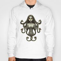 medusa Hoodies featuring Medusa by Freeminds