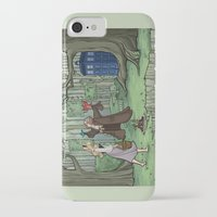 hallion iPhone & iPod Cases featuring Visions are Seldom all They Seem by Karen Hallion Illustrations
