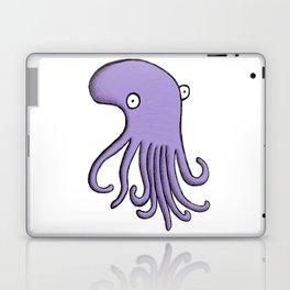 Purple Octopus Laptop & iPad Skin