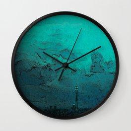 Needle Skyline Wall Clock