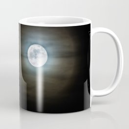 Creepy Moon Coffee Mug