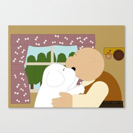 Good friend Canvas Print