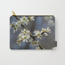Blackthorn Blossom Carry-All Pouch