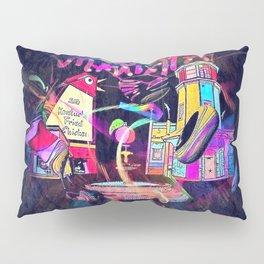 Marietta GA Popart by Nico Bielow Pillow Sham