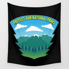 Protect Our National Parks Wall Tapestry