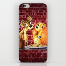 Lady and the Tramp iPhone Skin