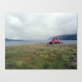 Scottish Bothy Canvas Print