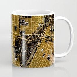 Las Vegas old map year 1967 Coffee Mug