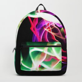 Glowing Neon Lights (Color) Backpack