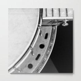 Concertone Banjo Detail  Metal Print