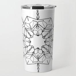 Geometric Star Travel Mug