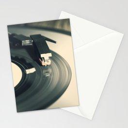 Vintage Vinyl Record 2 Stationery Cards