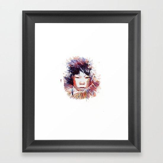 MONGOLIA Framed Art Print