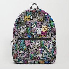 Gemstone Cats CYMK Backpack