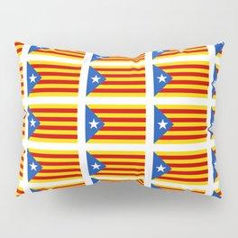 senyera catalunya 2 -catalunya,cataluna,catalonha,espanya,iberica,Barcelona, Pillow Sham