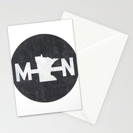 Minnesota Logo MN Stationery Cards