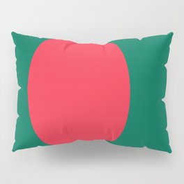 Flag Of Bangladesh Pillow Sham