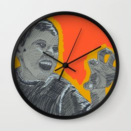 The right amount of rage Wall Clock