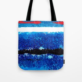 Two red brush strokes for Matisse Tote Bag