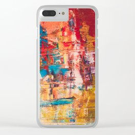 MOdern ABstract Clear iPhone Case