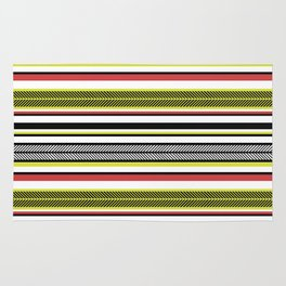 Aztec Fishbone Stripe Rug