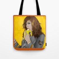mac Tote Bags featuring Mac Gie by Edu Gerbi