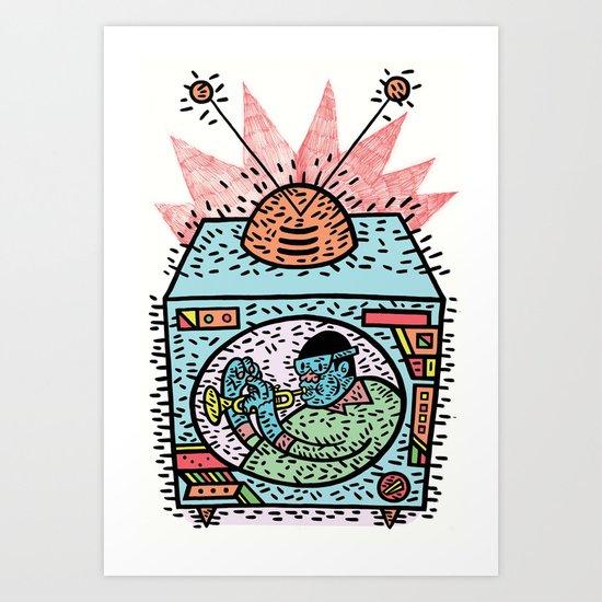 Music box Art Print