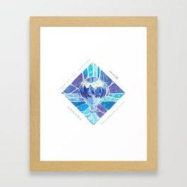 Houseki no kuni - Lapis Things Framed Art Print