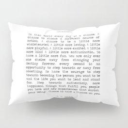 Take Chances Pillow Sham