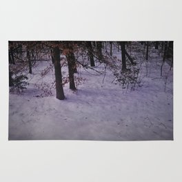 Snowy Forest Rug