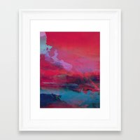 tchmo Framed Art Prints featuring Untitled 20150726s by tchmo