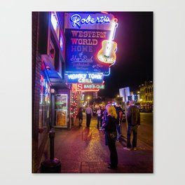 Roberts Western World- Nashville, TN. Canvas Print