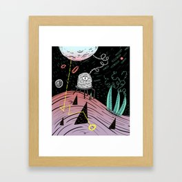 Superboles h4 Framed Art Print